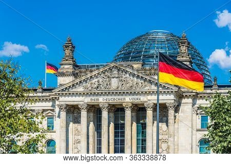 Berlin, Germany in July 2019 The Reichstag in the German capital is the seat of the German Bundestag