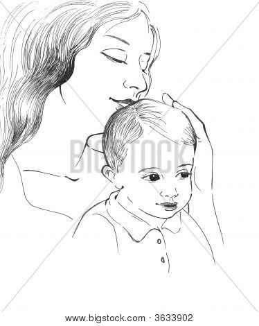 Mother With Child