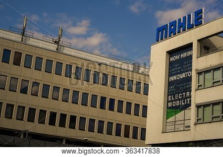 Stuttgart,germany - March 31,2020:bad Cannstatt These Are Old Office Buildings Of The Big Electronic