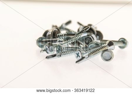 Stainless Steel Wick-tip Nuts And Bolts And Millimeters For Industrial And Home Jobs
