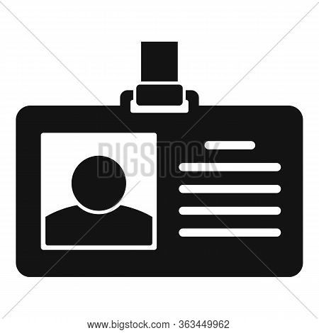 Authentication Badge Icon. Simple Illustration Of Authentication Badge Vector Icon For Web Design Is