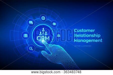 Crm. Customer Relationship Management. Customer Service And Relationship. Enterprise Communication A