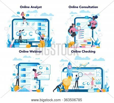 Business Analyst Online Service Or Platform On Differernt Device