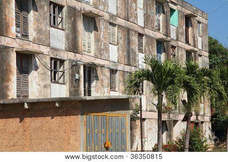 Poor Apartment Building