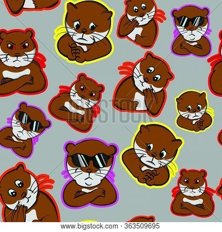 Funny Cool Impressive Expression Animals Nervous, Otter Perplexed, Pet Cute  Confused, Beaver Puzzle