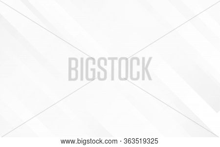 Gray Lines On White Background Minimal Concept Vector Illustration Subtle Design.