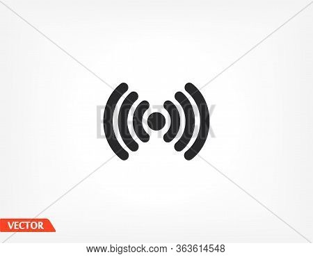 Wi-fi Icon. Eps 10 Wi-fi Vector. Wi-fi Flat Design. Wi-fi 10 Eps Icon