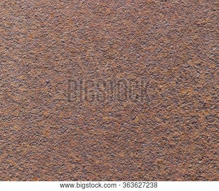Rusty Metal Background. Rust And Oxidized Iron Texture.