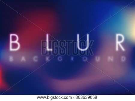 Abstract Light Background. Vector Illustration Element, Colorful