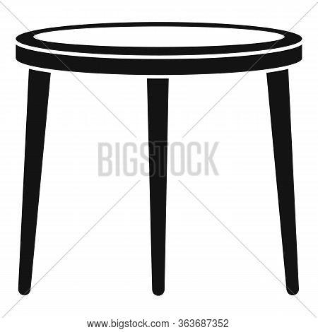 Garden Furniture Icon. Simple Illustration Of Garden Furniture Vector Icon For Web Design Isolated O