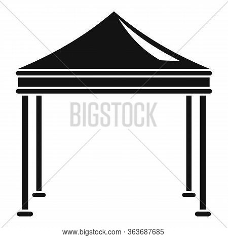 Event Garden Tent Icon. Simple Illustration Of Event Garden Tent Vector Icon For Web Design Isolated