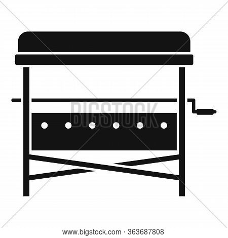 Bbq Yard Stand Icon. Simple Illustration Of Bbq Yard Stand Vector Icon For Web Design Isolated On Wh