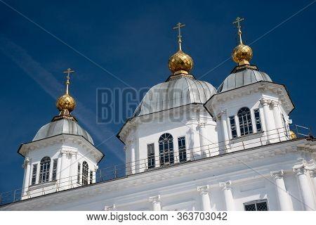 Kazan Womens Monastery In Yaroslavl. Golden Ring Of Russia.