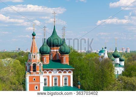 The Church Of Archangel Michael In Yaroslavl. Golden Ring, Russia.