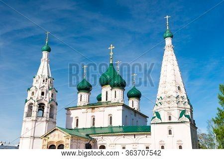 Church Of Elijah The Prophet In Yaroslavl. Golden Ring, Russia.