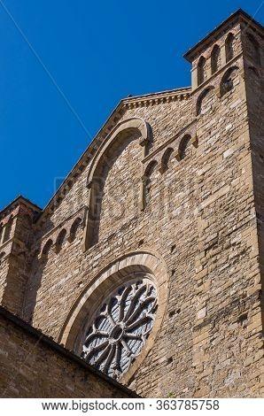 Basilica Of Santa Maria Novella. View From Railway Station.
