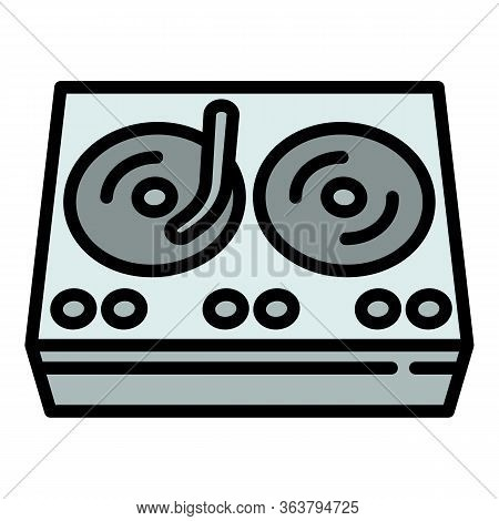 Hiphop Swag Player Icon. Outline Hiphop Swag Player Vector Icon For Web Design Isolated On White Bac