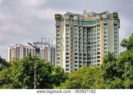 Delhi / India - September 19, 2019: Shangri-la Eros 5-star Hotel In New Delhi, India