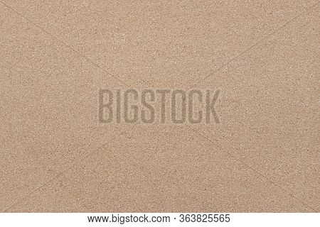 Close-up Brown Cork Board, Empty Bulletin Board With Free Space Copy For Text.