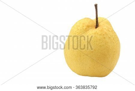 A Barrow Fruit Isolate On White Background.