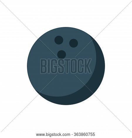 Bowling - Pin Bowling Icon Vector Design Template