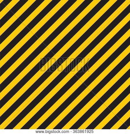Black Yellow Stripes Wall Hazard Industrial Striped Road Warning Yellow Black Diagonal Stripes Seaml