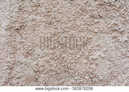 Texture Of Concrete With Large Rubble Texture
