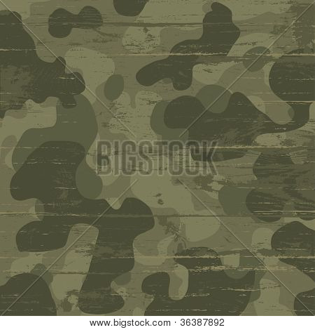 Camouflage military background. Raster version, vector file available in portfolio.