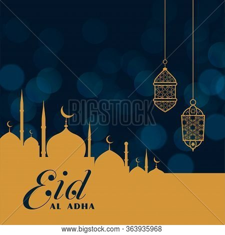 Islamic Religion Festival Of Eid Al Adha Background