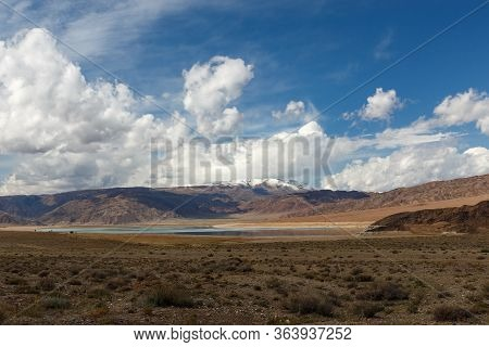 Orto Tokoy Reservoir Is A Reservoir Of The Chu River, Located In Kochkor District Of Naryn Province