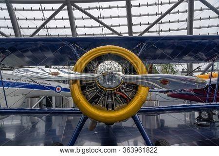 Feb 3, 2020 - Salzburg, Austria: Bristol Sycamore Hr Aircrfat Propeller In Hamilton Standard T In Di