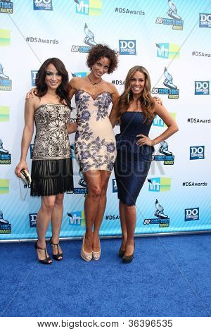 Los Angeles - AUG 19:  Mayte Garcia, Nicole Murphy, Sheree Fletcher arrives at the 2012 Do Something Awards at Barker Hanger on August 19, 2012 in Santa Monica, CA