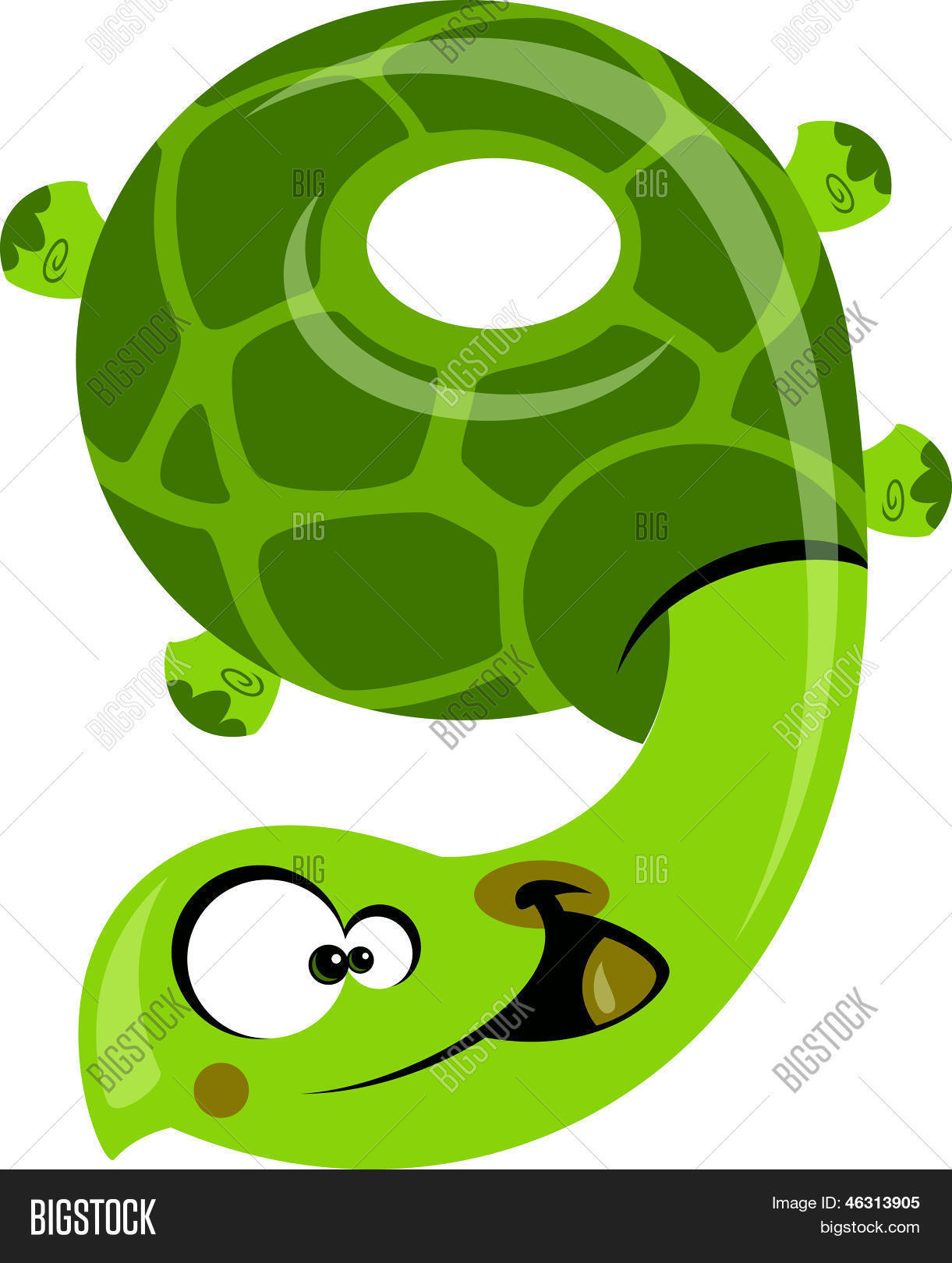 Number 9 Funny Vector & Photo (Free Trial) | Bigstock