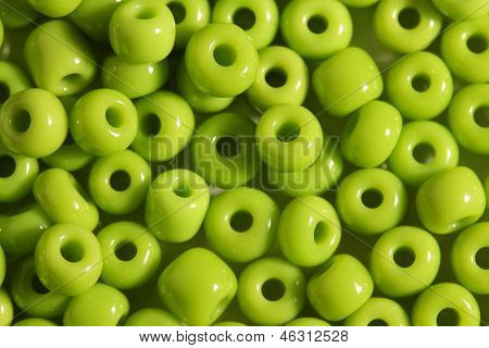 Salad Color Big Beads