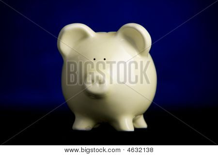 Piggy Bank With Rim-light