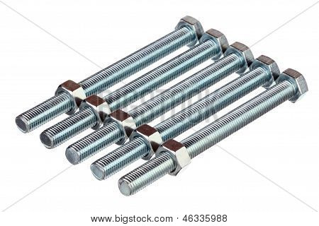 Metallic Bolts And Nuts