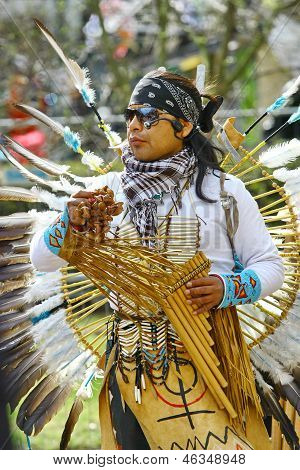 Native American Indian Tribal Group