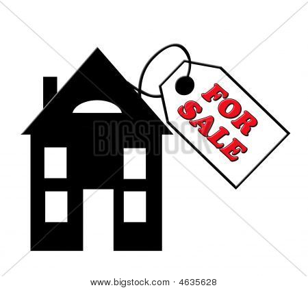 Price Tag On House For Sale