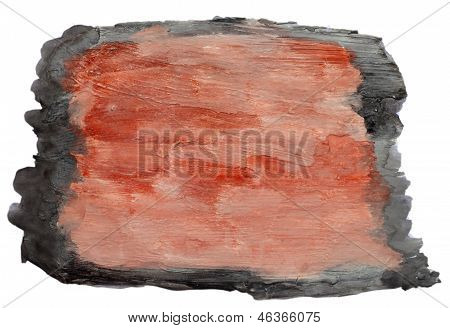 art brown, black watercolor isolated for your design