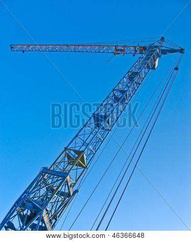 Large building crane.