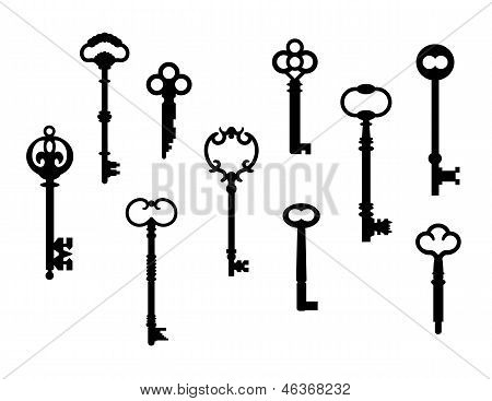 Ten Skeleton Keys