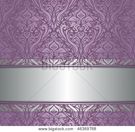 Amethystine images illustrations vectors amethystine for Purple and silver wallpaper