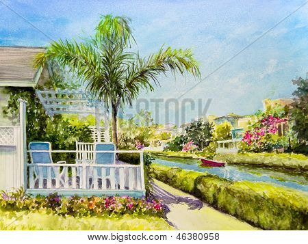 Canal Patio