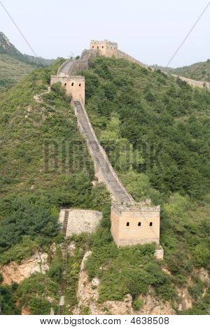 Great Wall Of Simatai In China