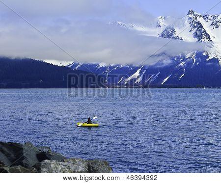 Alaskan kayak