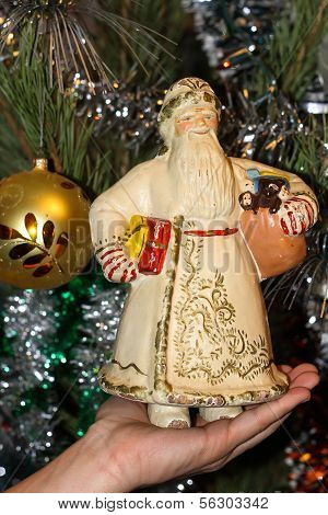Retro Grandfather Moroz