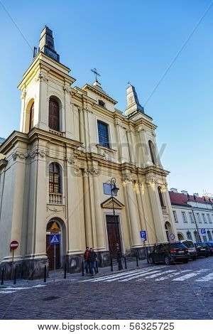 Church Of St. Francis In Warsaw