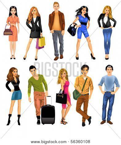 set of people