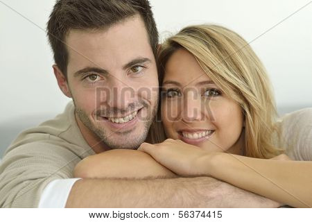 Portrait of 30 year old couple
