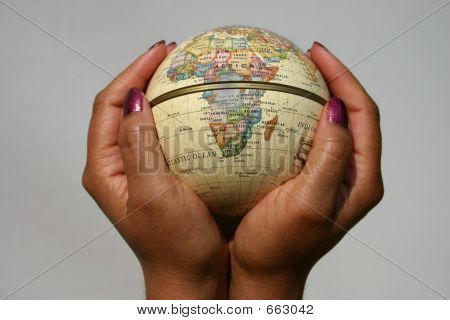 World In Her Hands